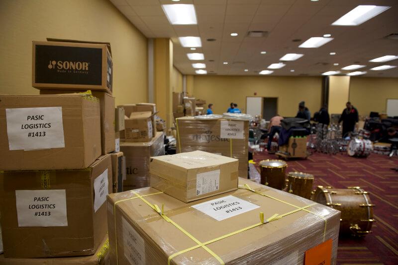 PASIC 2017 Logistics