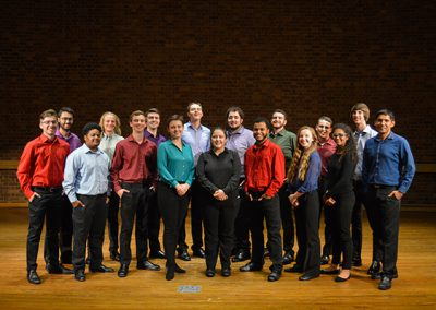 The Furman University Percussion Ensemble