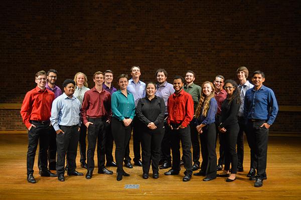 The Furman University Percussion Ensemble