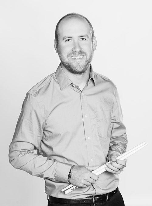 Joe Hobbs and the Vandegrift Drumline