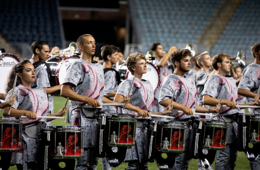 Santa Clara Vanguard Percussion Section