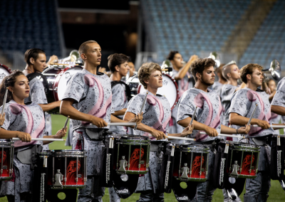 Santa Clara Vanguard Percussion Section