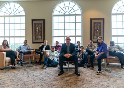 T. Adam Blackstock and the Troy University Percussion Ensemble