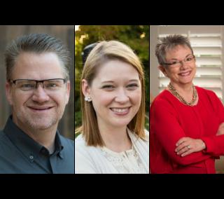 Dave Gerhart, Heather Mansell, Marcia Neel