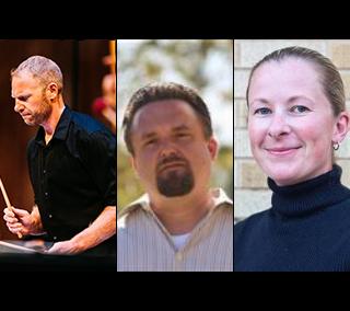 Brian Dinkel, Alan Miller, and Sandi Rennick