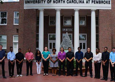University of North Carolina at Pembroke Percussion Ensemble