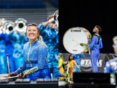 Bluecoats Drum & Bugle Corps Percussion Section